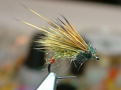 Tying a Green Peter Caddis by Davie McPhail.