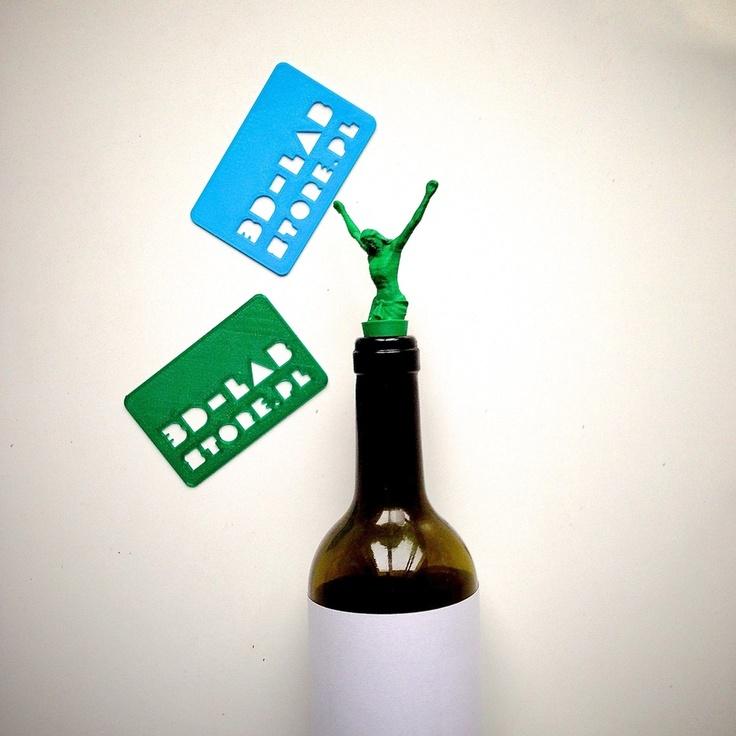 JESUS 3d lab print - cork for wine by kogiel-mogiel.