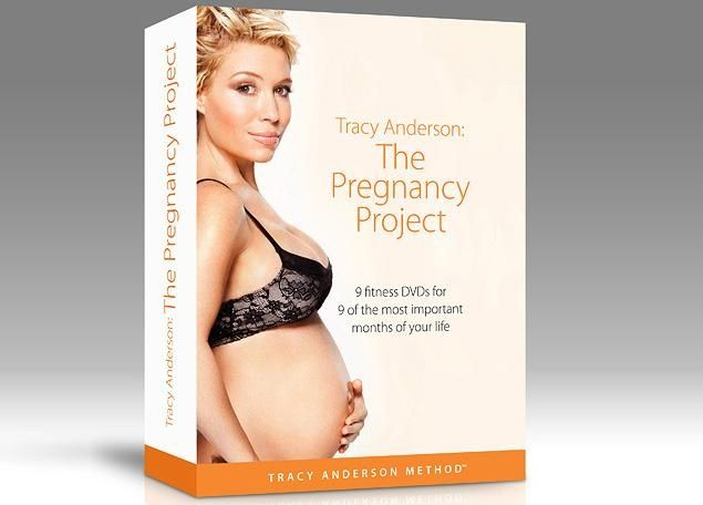 Celebrity trainer Tracy Anderson - pregnancy workout DVDs I swear to these dvds