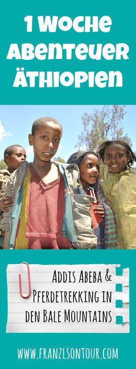 Pferdetrekking in Äthiopien - ein wunderbares Erlebnis und gleichzeitig Hilfe zur Selbsthilfe für die Menschen vor Ort! Die Details gibt's am Blog!