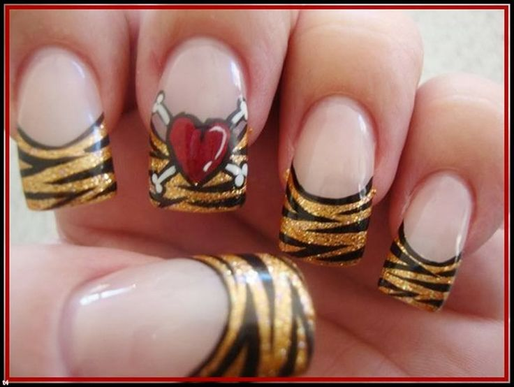 Latest Nail Art Designs 2014 Nail art design ideas #nailarts #naildesigns #nails #nailideas #cutenails