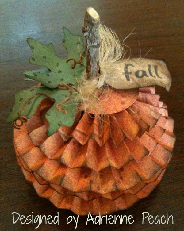 Cricut with Heart: Cricut Pumpkin by Adrienne