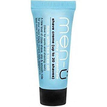 men-u Shave Crème Travel Tube (15ml) Review