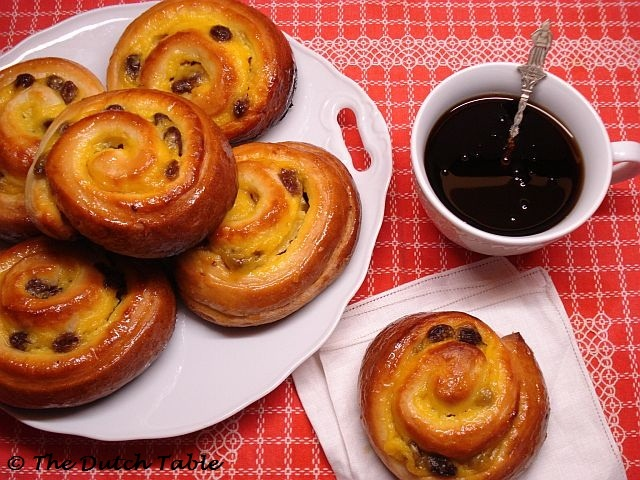 The Dutch Table: Koffiebroodjes (Dutch Sweet Rolls)