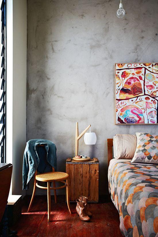 """""""La pintura es siempre un buen recurso para cambiar el aspecto de tu hogar. Si no deseas una gran transformación que implique también renovar los textiles, opta por un color de pintura en la misma gama del que ya tienes.  En este caso, para reforzar el cambio, recurre a una técnica de pintura decorativa distinta al existente.""""  En esta oportunidad te mostramos el efecto ESTUCO.."""