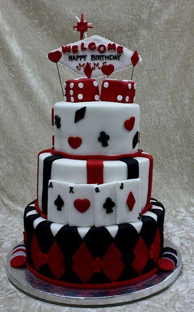 casino cake by The House of Cakes Dubai, via Flickr