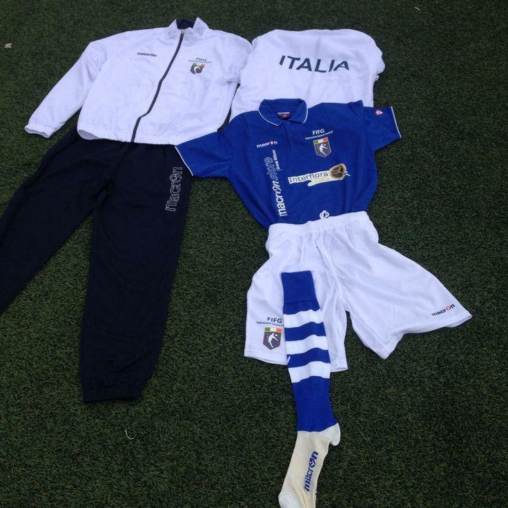 La divisa della Nazionale Italiana Footgolf parteciperà all'European Championship in programma dal 23 al 25 maggio 2014 a Budapest.