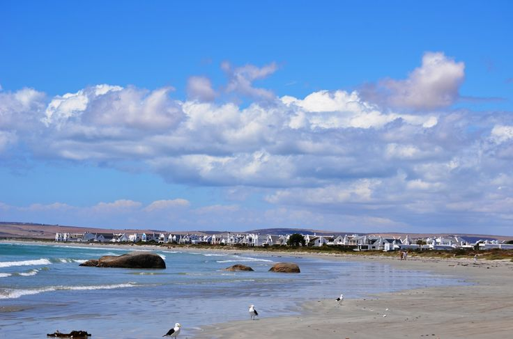 Paternoster beach on the Cape's West Coast - rated one of the top 10 beaches in South Africa. #Paternoster #beach #top10