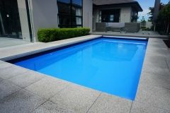 custom made small swimming pool by the team at Mayfair Pools Canterbury