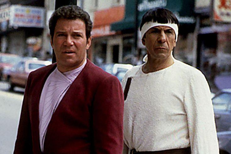Film Star Trek IV - William Shatner & Leonard Nimoy 1986