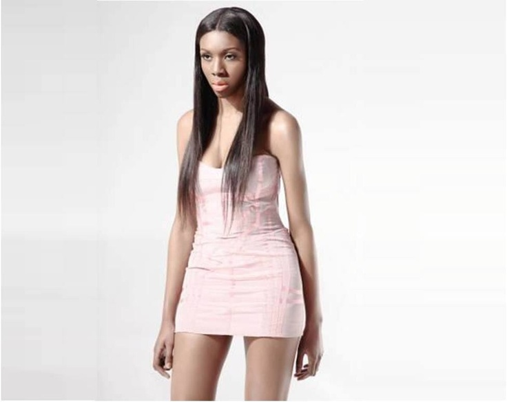 Pastel short corset dress