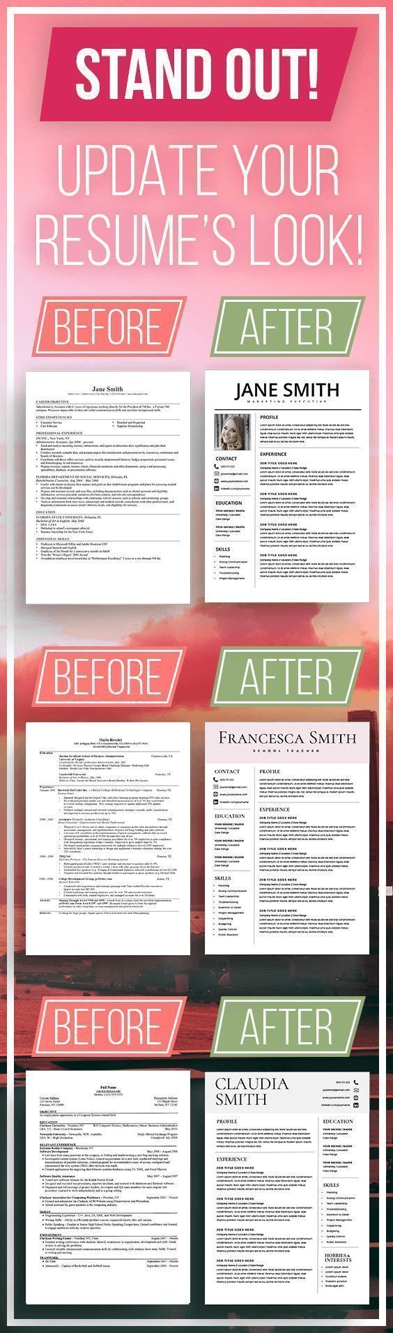 Professional Resume Format - Update you Resume's look today!