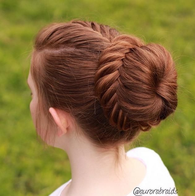 haircuts for hair 60 1000 ideas about fishtail braid buns on 2841
