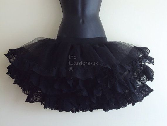 Black TuTu Skirt size U.S.4 6 8 10 . UK 6 8 10 by thetutustoreuk, $55.00