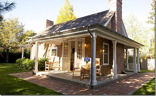 Small house. Beautiful house.