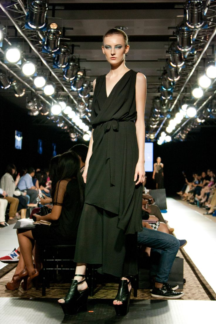 Another black long dress