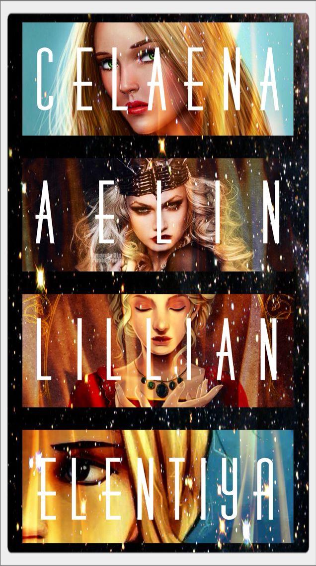 Aelin Ashryver Galathynius, Celaena Sardothien, Lillian and many other names