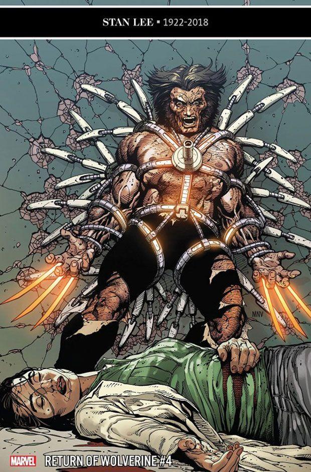 Return of Wolverine #5 Main Cover STOCK PHOTO Marvel Comics 2019 00511