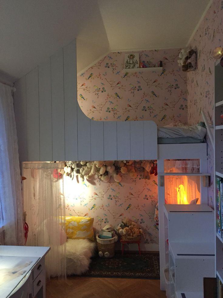 Loftsäng DIY barnrum pip studio Early bird