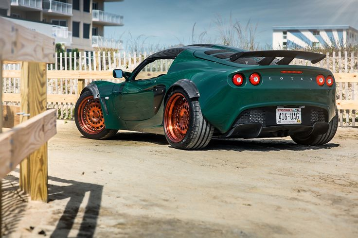 #Lotus Exige VIP Modular VXS210 #Wheels... {This is Picture #1 of 2, [on My Board], Very Cool Exoctic Indeed!!