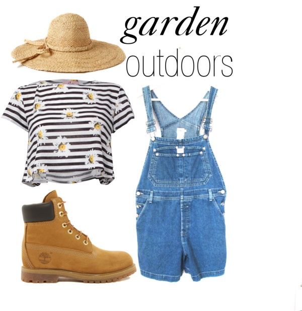 """Garden Outdoors"" by michelleanned on Polyvore"