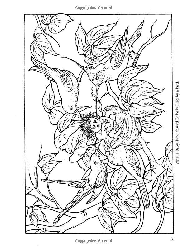 Richard Doyles Fairyland (Dover Art Coloring Book