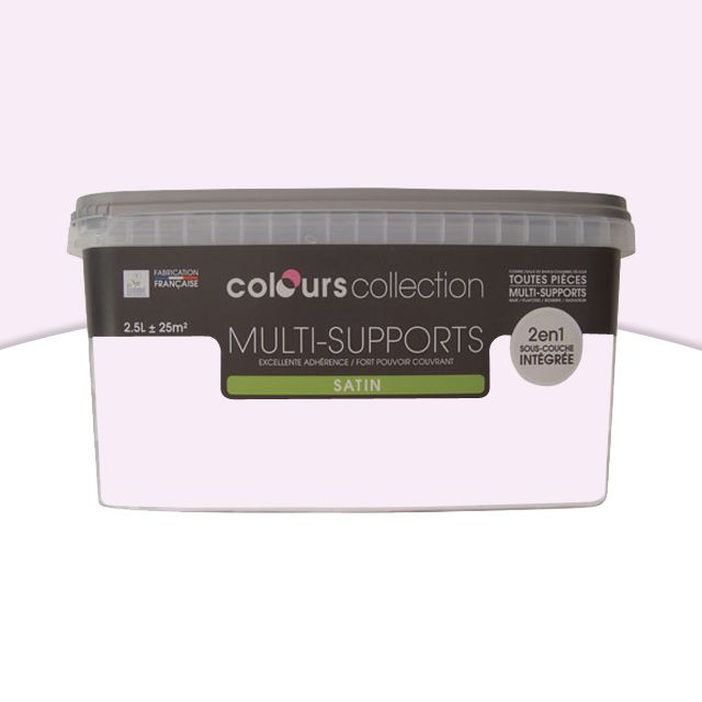 Peinture multi-supports RADIATEUR PAR EX Cupcake Satin 2,5L - CASTORAMA