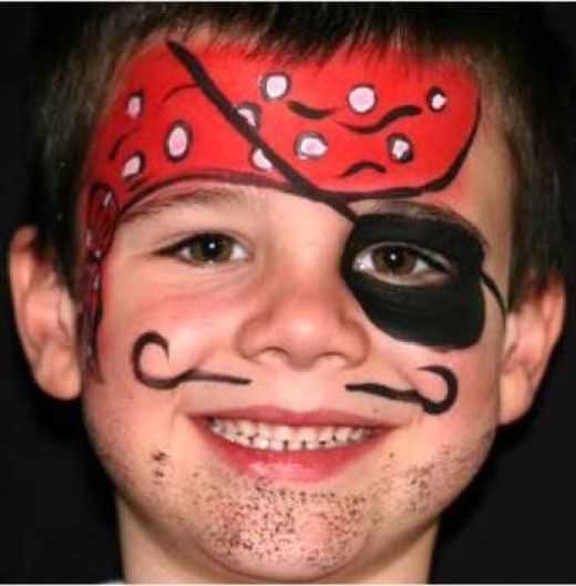 Pirate Face Painting for Children: Tutorials, Tips and Designs
