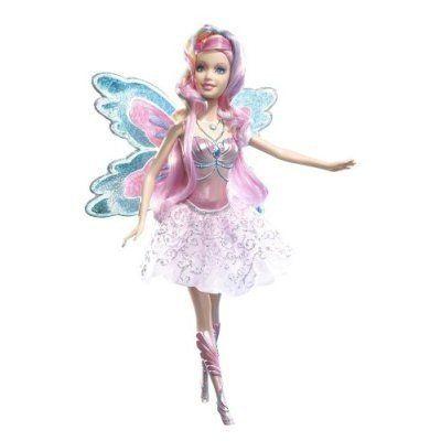 barbie fairytopia dolls | Barbie Fairytopia Mermaidia Glitter-Swirl Fairy Doll | Barbie Princess ...