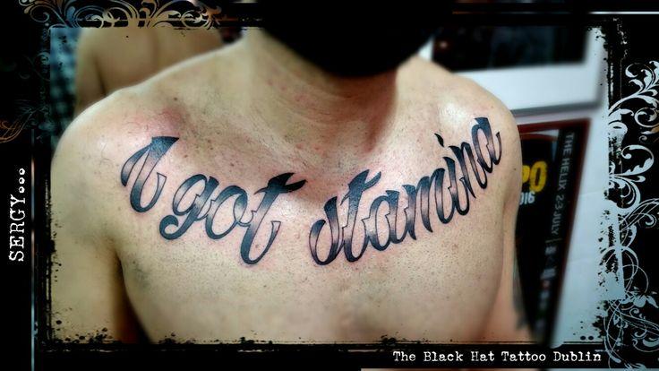 Sergy The Black Hat Tattoo Dublin