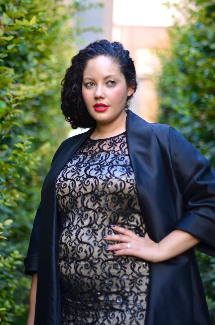 Girl with Curves - Maternity Style