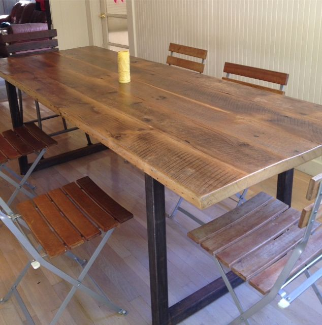 Reclaimed Wood Tables Dining Conference Community