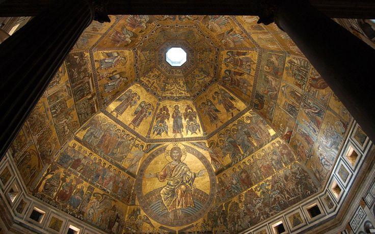 Il Battistero in Notturna  Dal 1128, ne è passata d'acqua dal Fonte Battesimale di San Giovanni! E non sono mancati, da allora, battesimi di Fiorentini che sarebbero poi diventati illustri. http://operaduomo.firenze.it/blog/posts/il-battistero-in-notturna