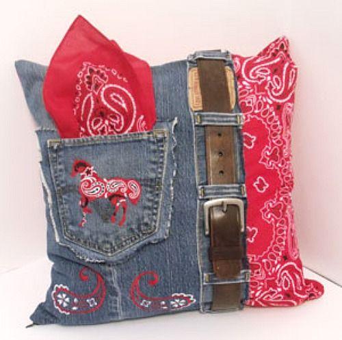 Best of the West ~ Fun Pillow Tutorial | http://fabricshopperonline.com/best-of-the-west/