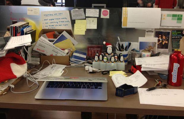 Foursquare: The Desk
