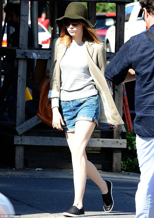 Emma Stone New York City June 24 2014