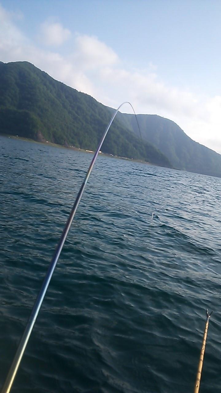 2013年6月17日西湖前浜沖ロープ 30~40㎝×63枚 21尺18尺のチョーチン、両ダンゴ→両グルテン