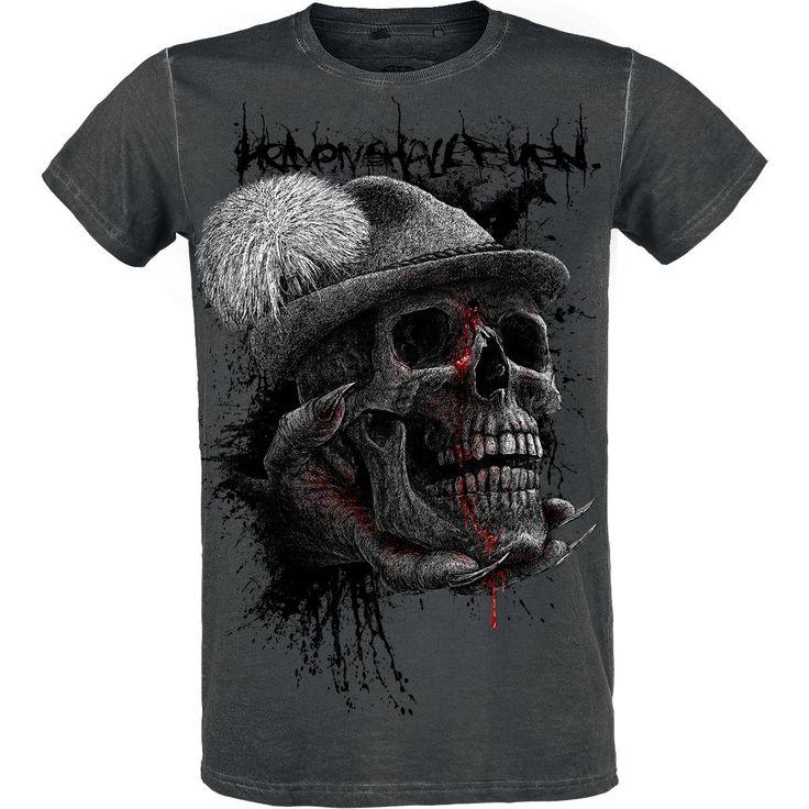 Classica T-Shirt uomo dedicata agli Heaven Shall Burn della speciale R.E.D. by EMP Signature Collection.