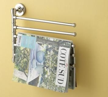 Captivating A Recessed Bathroom Magazine Holder Takes Advantage Of The Space Between  Wall Studs To ...