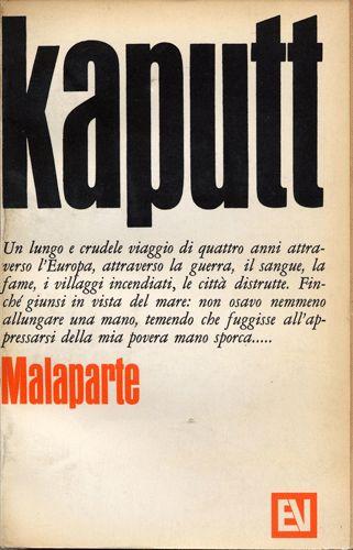 Kaputt | Curzio Malaparte | Vallecchi Editore Firenze, 1966 | Design by Bob Noorda