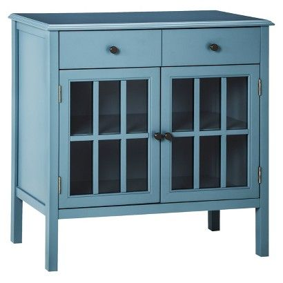Threshold™ Windham Accent Cabinet with Drawer--target teal or orange $169.99