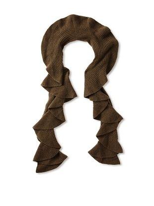 Magaschoni Women's Cashmere Ruffle Scarf