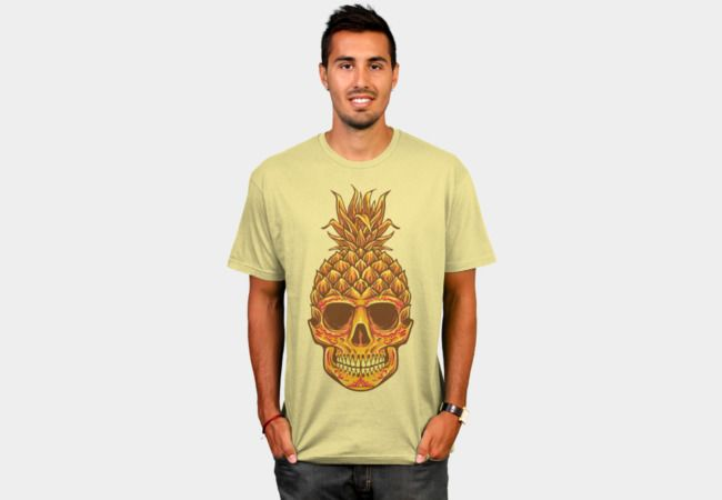 Fresh Pineapple Head T-Shirt