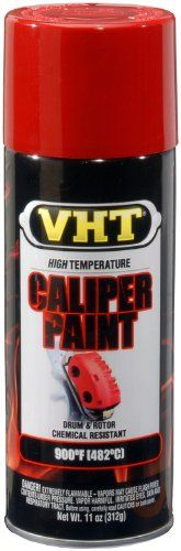 VHT SP731 Real Red Brake Caliper Paint Can  11 oz * To view further for this item, visit the image link.Note:It is affiliate link to Amazon.
