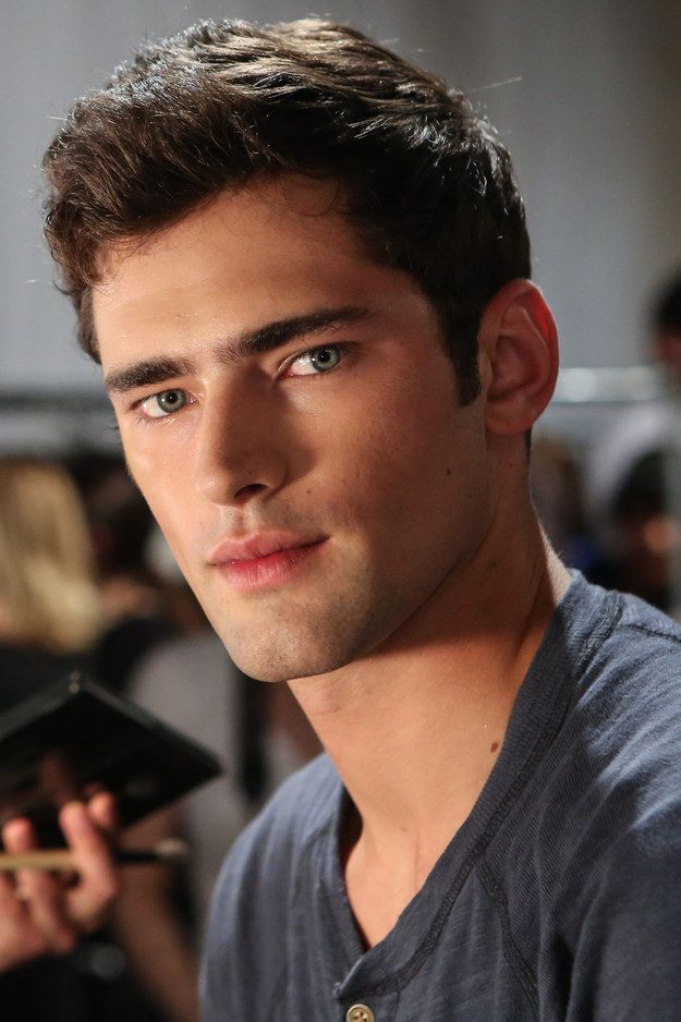 BECAUSE LOOK AT THAT FACE.   Sean opry, Hot male models