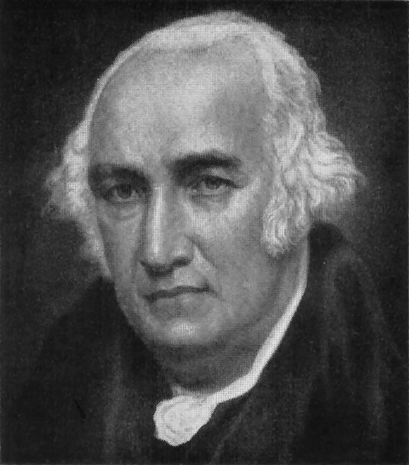 James Watt, patentó la máquina de vapor en 1769.