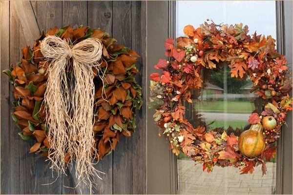 Üdvözlet a betérőnek – Dekoratív őszi ajtódíszek – Megvalósítható ötletek