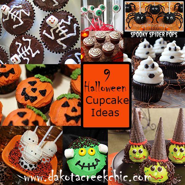 Halloween Cupcake Ideas at Dakota Creek Chic