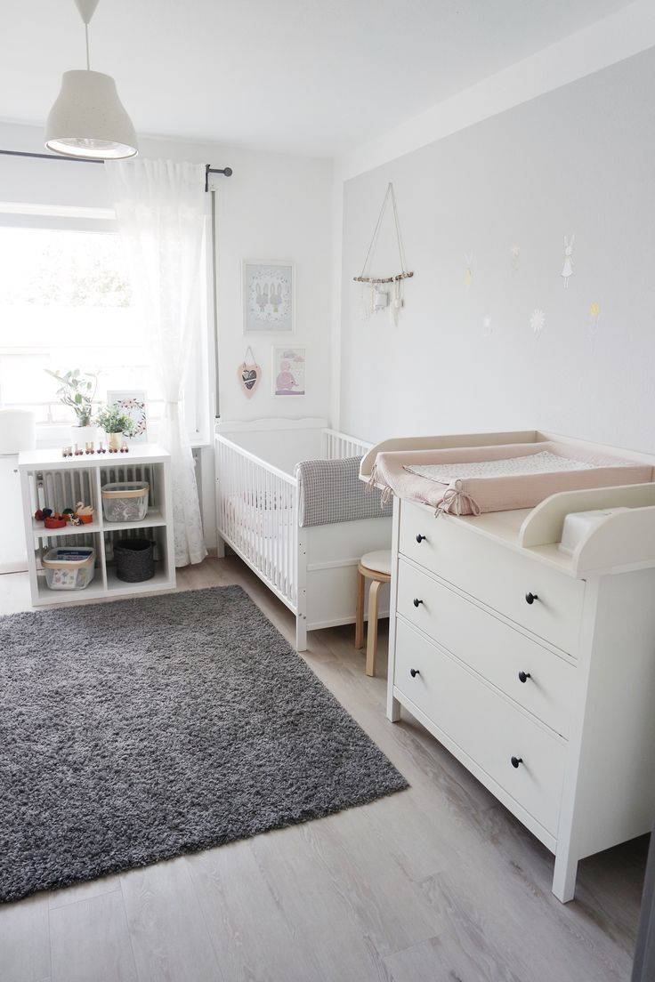 Rosé und Grey Girls Zimmer – kids space – #Girl…