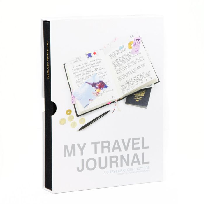 My Travel Journal | Suck UK globe trotter diary world | Yellow ...